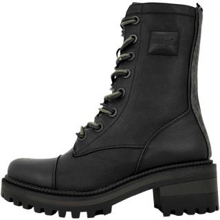 Γυναικεία Μποτάκια WL12603A BALLANTYNE COMBAT Eco Leather Μαύρο Wrangler