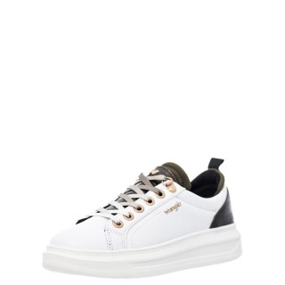 Γυναικεία Sneakers WL12630A JOLIN Eco Leather Λευκό Χακί Wrangler