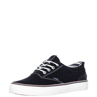 Ανδρικά Sneakers WM01020A EPIC BOARD Ύφασμα Μαύρο Wrangler