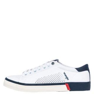 Ανδρικά Sneakers WM01032A FRISCO Ύφασμα Λευκό Wrangler