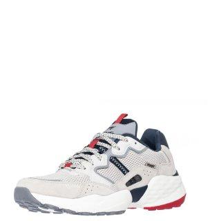 Ανδρικά Sneakers WM01101A ICONIC 90SM Ύφασμα Δέρμα Καστόρι Offwhite Wrangler
