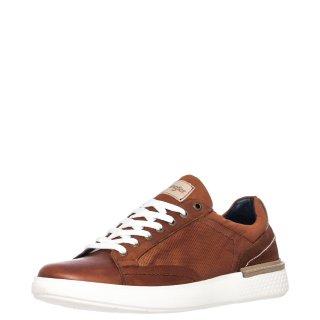 Ανδρικά Sneakers WM01181A DISCOVERY Δέρμα Κονιάκ Wrangler