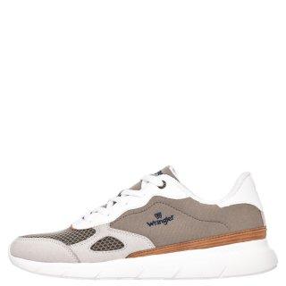 Ανδρικά Sneakers WM11050A CRUISE Ύφασμα Δέρμα Καστόρι Μπεζ Wrangler