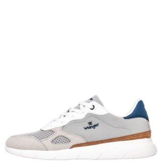 Ανδρικά Sneakers WM11050A CRUISE Ύφασμα Δέρμα Καστόρι Γκρι Wrangler
