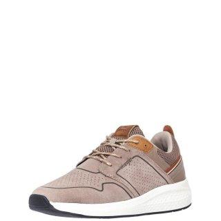 Ανδρικά Sneakers WM11071A SEQUOIA CITY Δέρμα Καστόρι Μπεζ Wrangler