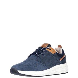 Ανδρικά Sneakers WM11071A SEQUOIA CITY Δέρμα Καστόρι Μπλέ Wrangler