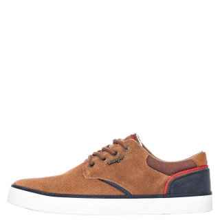 Ανδρικά Casual Παπούτσια WM11113A MONUMENY SUEDE Δέρμα Καστόρι Ταμπά Wrangler