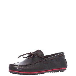 Ανδρικά Μοκασίνια & Loafers WM11191A DAYTONA LEATHER Δέρμα Καφέ Wrangler