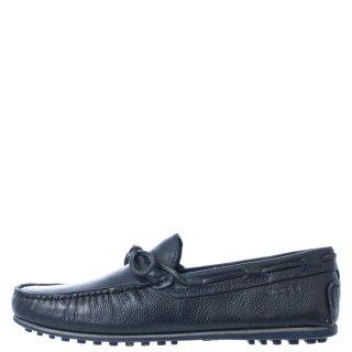 Ανδρικά Μοκασίνια & Loafers WM11191A DAYTONA LEATHER Δέρμα Μπλέ Wrangler