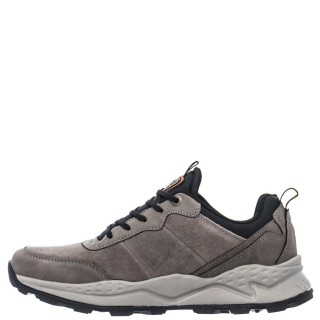Ανδρικά Sneakers WM12104A CROSSY CITY Δέρμα Καστόρι Γκρι Wrangler