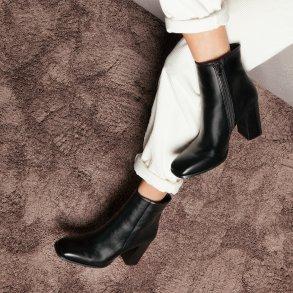 Γυναικεία Μποτάκια 20 522 Eco Leather Μαύρο Sante